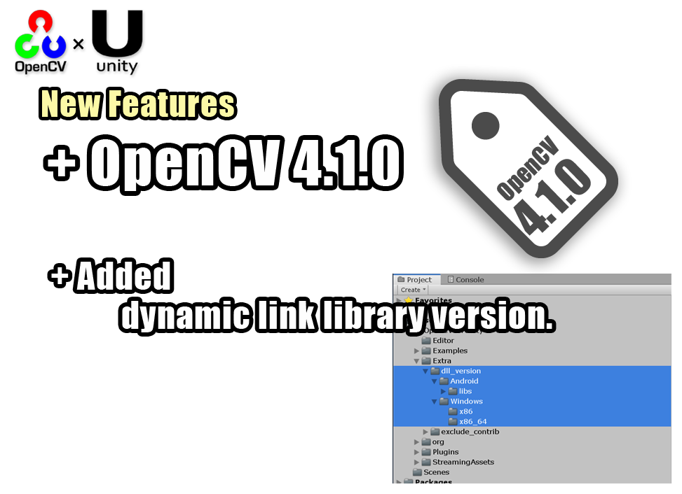 About OpenCV for Unity – OpenCV for Unity