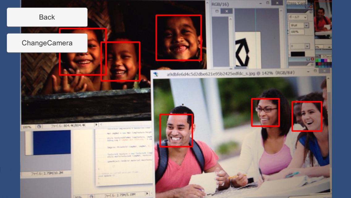 OpenCV for Unity – OpenCV for Unity is an Assets Plugin for using